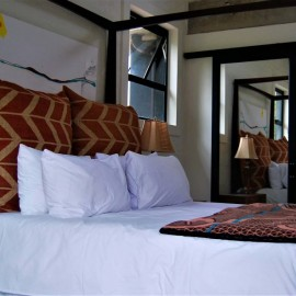 The Bright House Villa - Upstairs Bedroom